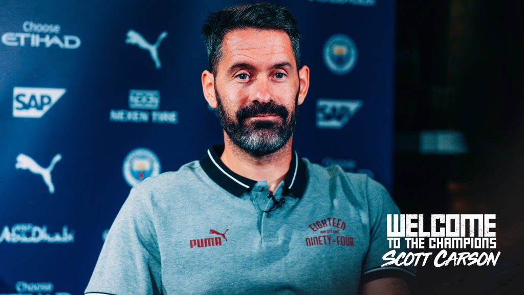 CARSON SIGNS: City have signed goalkeeper Scott Carson