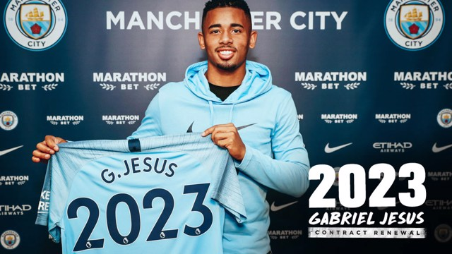 NUMBERS GAME: Gabriel Jesus