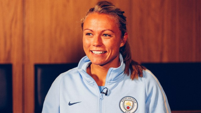 ALL SMILES: Emslie sits down for an interview with CityTV