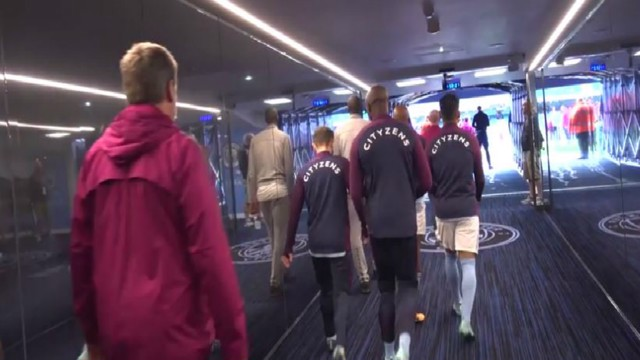 Tunnel Time: Go behind-the-scenes in City's victory against Liverpool