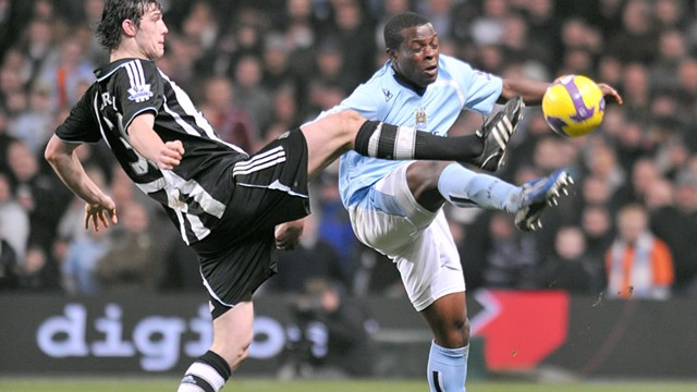 Onouha vs Newcastle 0809