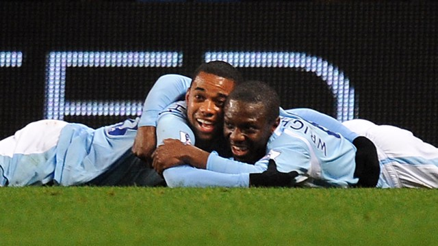 Robinho and Shaun Wright Phillips 0809
