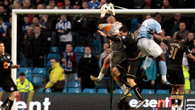 Goal Mouth Action Wigan