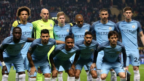 City team line-up
