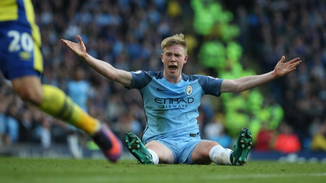 SHOUT IT OUT: Kevin De Bruyne