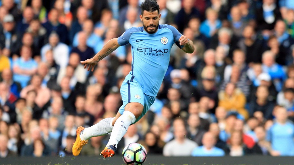 ACTION: Sergio Aguero plots his next move
