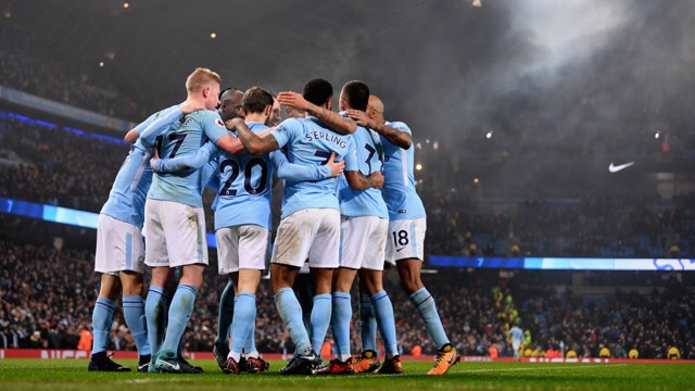 TOGETHER: City's winning run continues...