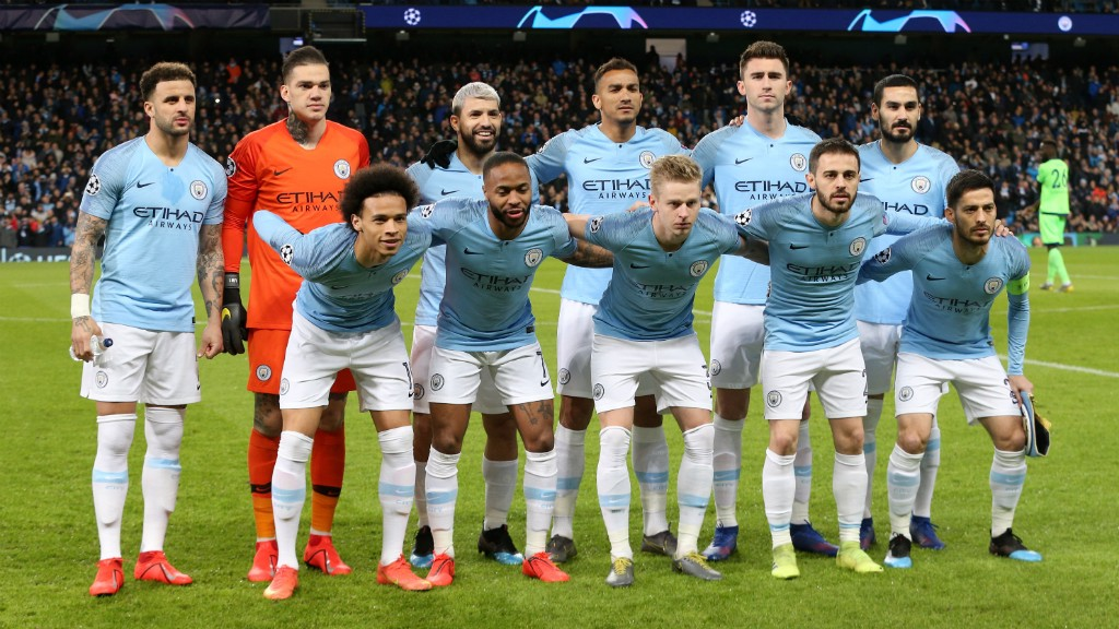 THE CHOSEN XI: City's starting line-up...
