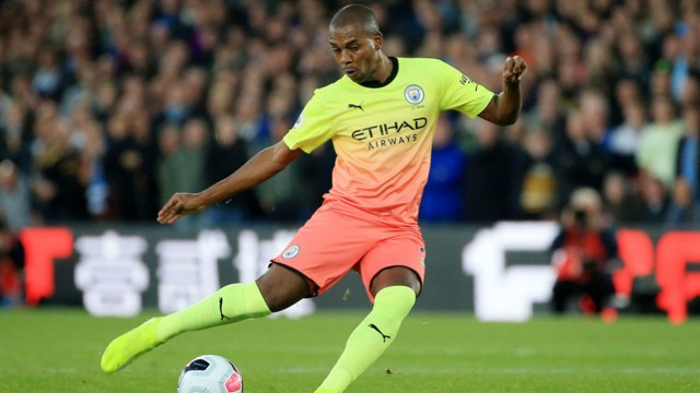 DINHO: The make-shift centre-back praised City's