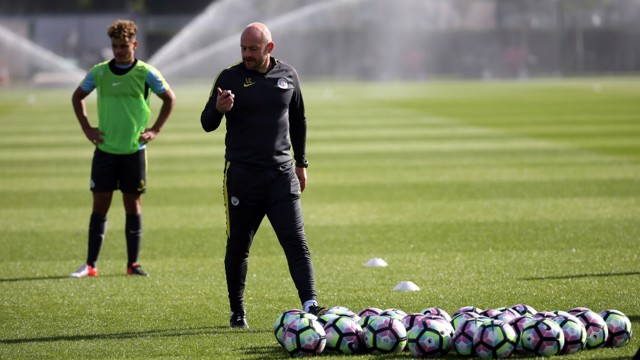 CARSLEY: City's 18s boss in charge of training