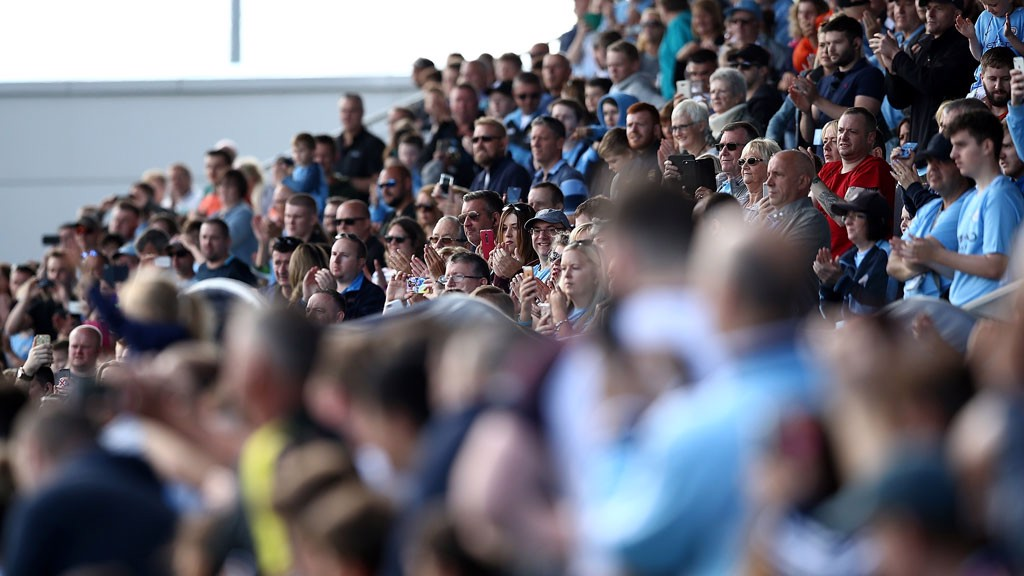 CITYZENS: Blues fans were welcomed to the CFA this weekend to watch the first team train