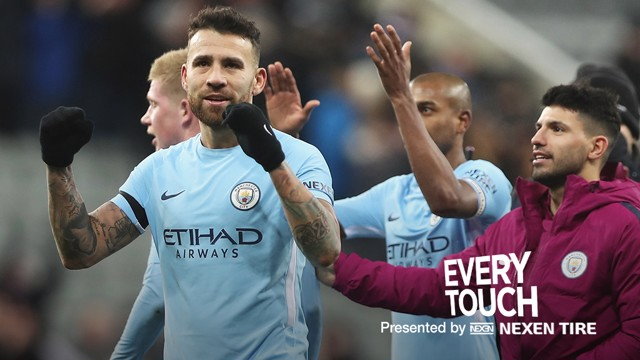 EVERY TOUCH: Nicolas Otamendi v Newcastle United