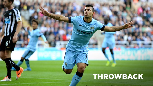 THROWBACK: Newcastle United v Manchester City 2014-15