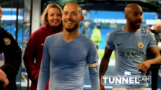 TUNNEL CAM: Watch behind-the-scenes at the Etihad during our 2-1 over West Ham.