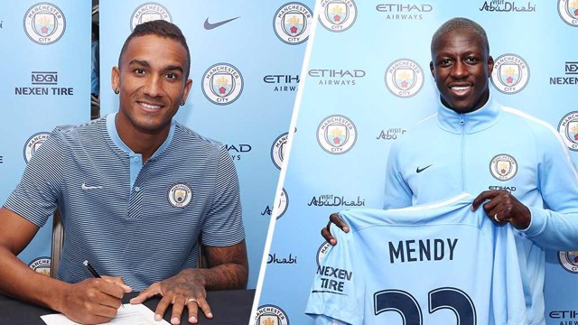 NEW ARRIVALS: Danilo and Benjamin Mendy
