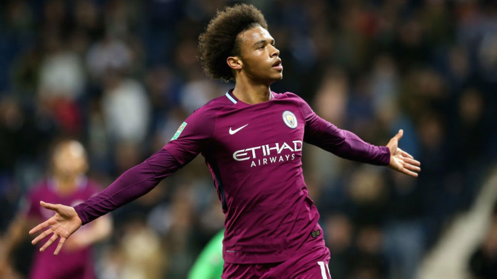 FOURTH ROUND: The Blues cruised into the last-16 after Sane's double v West Brom
