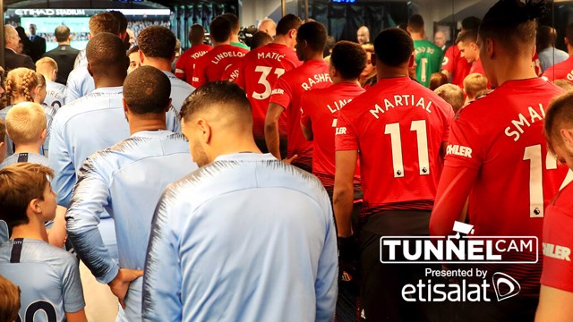 TUNNEL CAM: Be a fly on the wall at the 177th Manchester Derby...