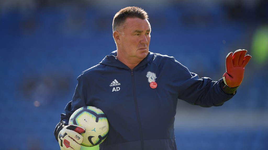 ANDY DIBBLE: Now keeper coach at Cardiff City